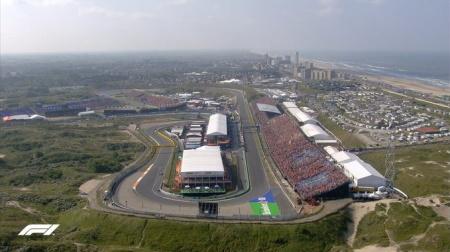 2021年F1第13戦F1オランダGP、FP1結果