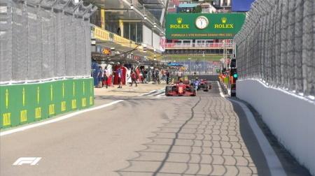 2021年F1第15戦F1ロシアGP、FP1結果