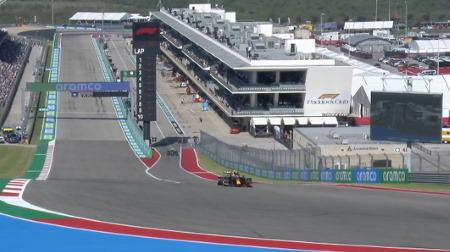 2021年F1第17戦F1アメリカGP、FP1結果