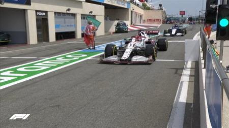 2021年F1第7戦F1フランスGP、FP2結果