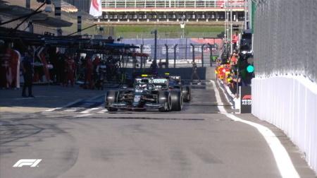 2021年F1第15戦F1ロシアGP、FP2結果