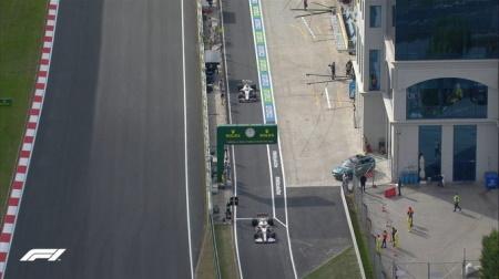 2021年F1第16戦F1トルコGP、FP2結果