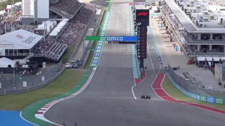 2021年F1第17戦F1アメリカGP、FP3結果