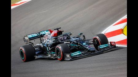 2021年F1第16戦 トルコGP、PPはハミルトン