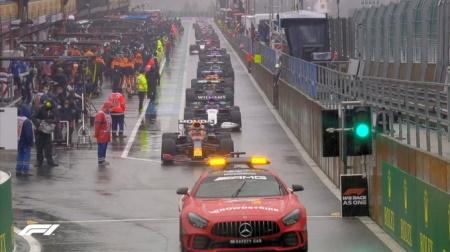 2021年F1第12戦のスタート