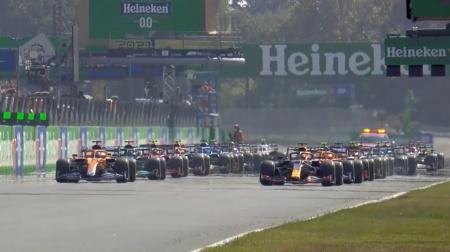 2021年F1第14戦のスタート