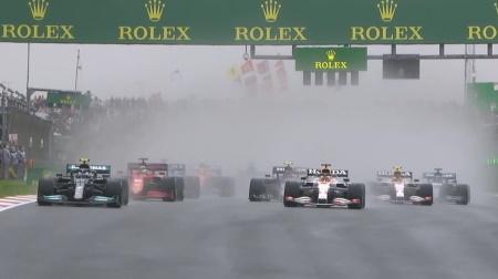 2021年F1第16戦のスタート