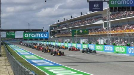 2021年F1第17戦のスタート