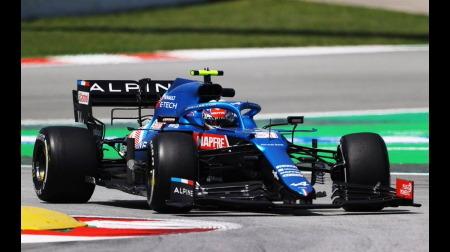 アルピーヌのドライバーコメント@F1スペインGP初日