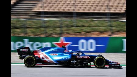 アルピーヌのアロンソとオコンコメント@F1スペインGP
