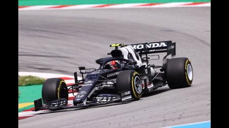アルファタウリのガスリーコメント@F1スペインGP