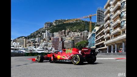 フェラーリのルクレール&サインツコメント@F1モナコGP初日