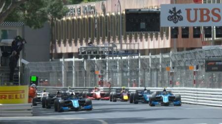 2021F2第2戦モナコ決勝レース1結果