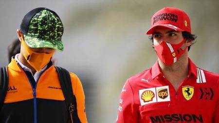 マクラーレンのノリス、モナコでのフェラーリの速さを予想済