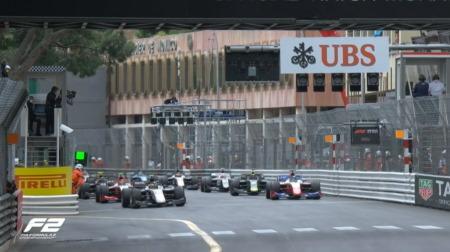 2021F2第2戦モナコ決勝レース3結果