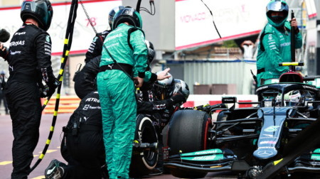 メルセデスのボッタスコメント@F1モナコGP