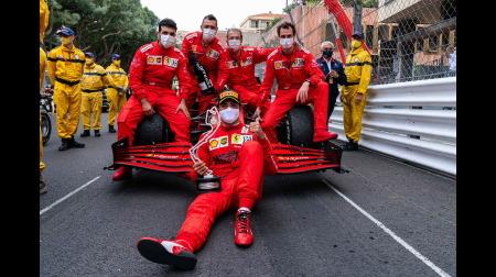 フェラーリのサインツコメント@F1モナコGP