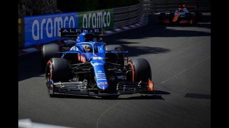 アルピーヌのアロンソコメント@F1モナコGP