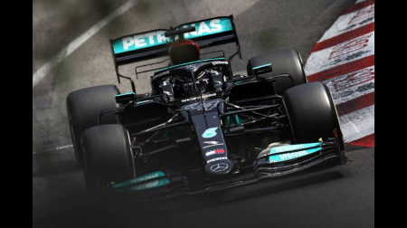 メルセデスのハミルトン&ボッタスコメント@F1アゼルバイジャンGP