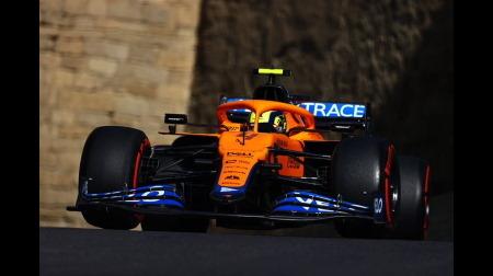 マクラーレンのノリスが3グリッド降格@F1アゼルバイジャンGP予選