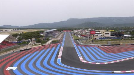 F1フランスGPは雷雨のレースへ