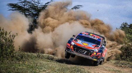 2021WRC第6戦ケニアDAY1~DAY2結果