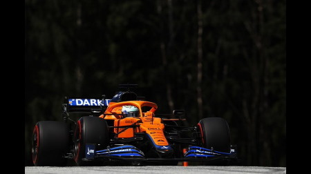 マクラーレンのリカルドコメント@F1シュタイアーマルクGP予選