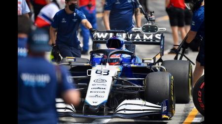 ウィリアムズのラッセルコメント@F1シュタイアーマルクGP