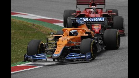 マクラーレンのリカルドコメント@F1シュタイアーマルクGP
