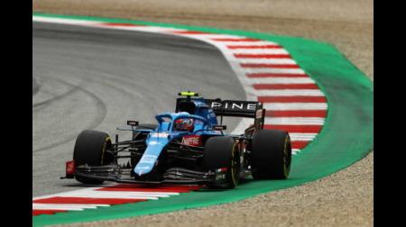 アルピーヌのオコンコメント@F1オーストリアGP予選
