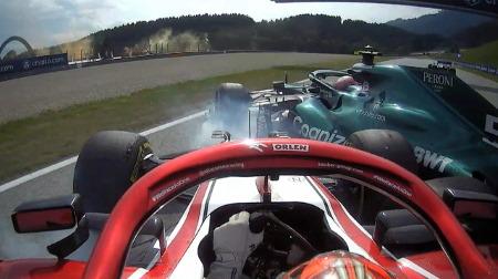 アルファロメオのライコネンにレース後ペナルティ@F1オーストリアGP