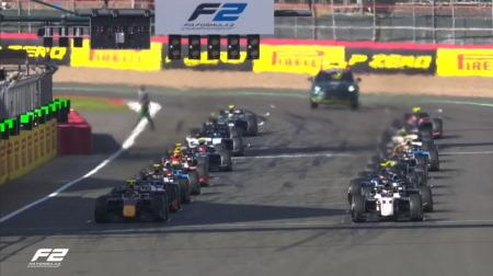 2021F2第4戦イギリス決勝レース1結果