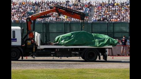 フェルスタッペン、F1イギリスGPでクラッシュしたマシンのエンジン(PU)使い回し可能か?