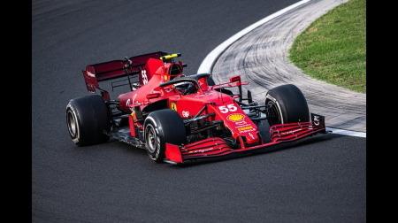 フェラーリのサインツコメント@F1ハンガリーGP