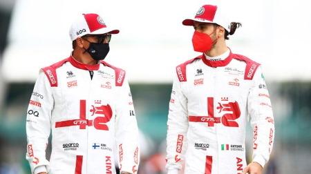 2022アルファロメオのドライバーラインナップ予想@F1公式