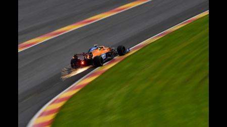 マクラーレンのノリスコメント@F1ベルギーGP予選