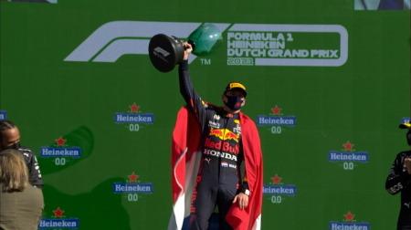 レッドブルのフェルスタッペンコメント@F1オランダGP決勝