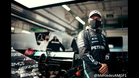 ボッタス、ハミルトンのF1タイトル獲得に向けてチームオーダー受け入れへ