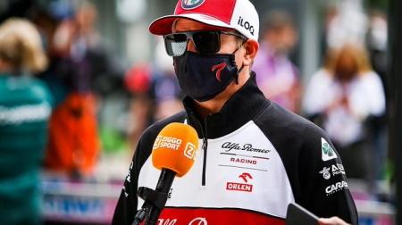 ルファロメオのライコネンコメント@F1ロシアGP