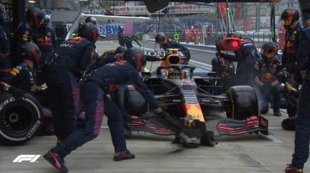 F1のピット作業が遅くなった?
