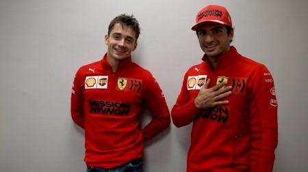 フェラーリのサインツ&ルクレールコメント@F1ロシアGP