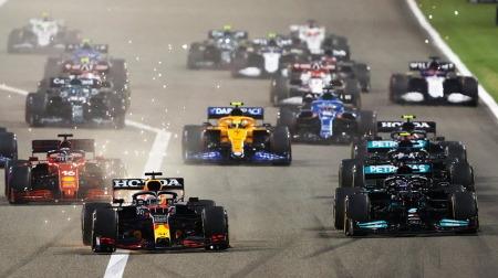 F1、2022年のカレンダーを公開