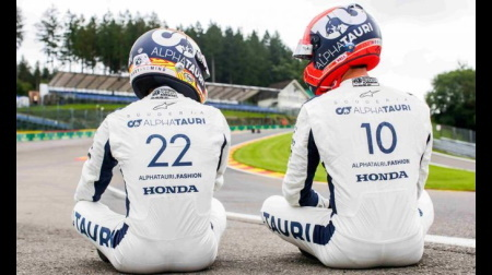 ガスリーと角田、ドライビングスタイルの違いについて語る