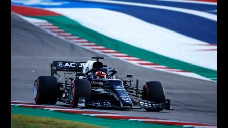 アルファタウリの角田コメント@F1アメリカGP予選
