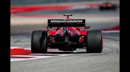 フェラーリのサインツコメント@F1アメリカGP予選