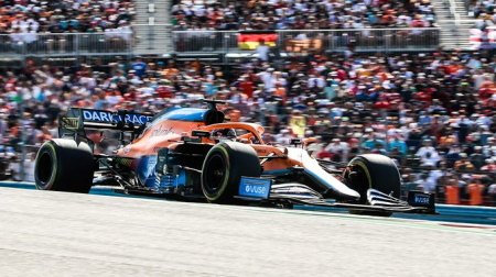 マクラーレンのリカルド@F1アメリカGP決勝