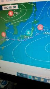 210520 天気図