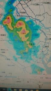 210616 雨雲レーダー
