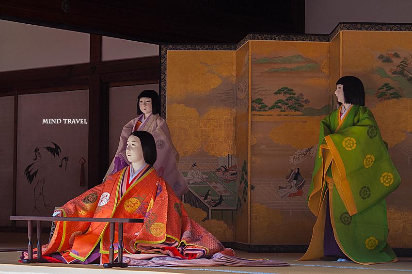 京都御所 人形