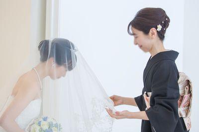 娘の結婚式で